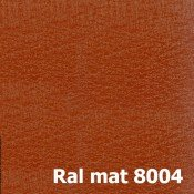 МАТ Ral 8004 (Терракотовый)