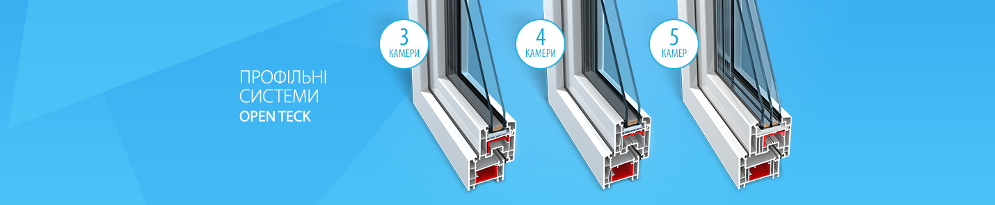 металлопластиковые окна Openteck