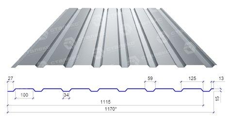 профнастил пс 15 сталекс